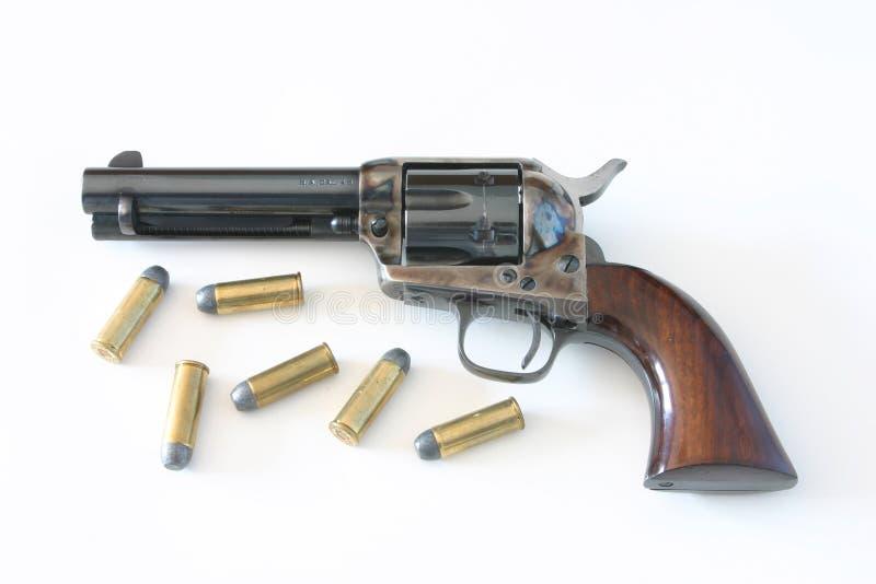 colt 45 pistola, pacificador fotografia de stock royalty free