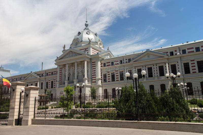 Coltea Hospital Bucharest stock image
