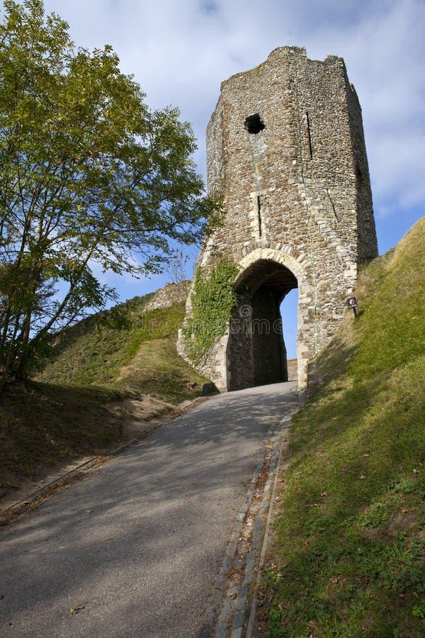 Colton's Gate at Dover Castle stock photos