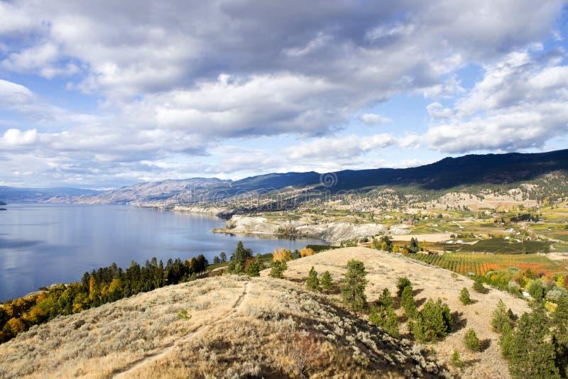 Columbia Británica Canadá del valle de Penticton Okanagan imágenes de archivo libres de regalías