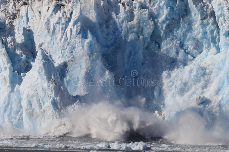 Columbia Glacier, Columbia Bay, Valdez, Alaska. Ice and icebergs in the environment of Columbia Glacier, Columbia Bay, Valdez, Alaska, aleutian, america royalty free stock photo