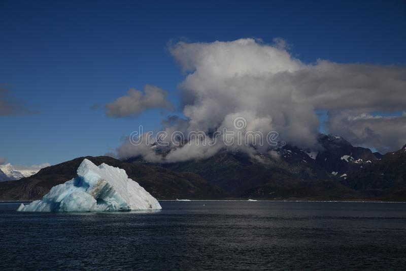 Columbia Glacier, Columbia Bay, Valdez, Alaska. Ice and icebergs in the environment of Columbia Glacier, Columbia Bay, Valdez, Alaska, aleutian, america stock photography