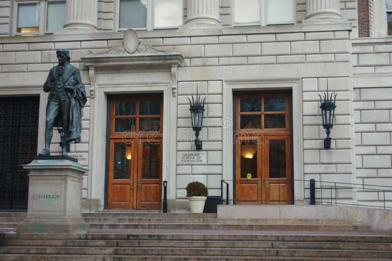 Columbia Journalism School stock image