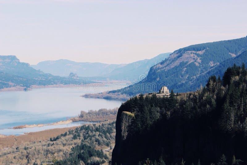 Columbia klyfta SUA royaltyfri foto