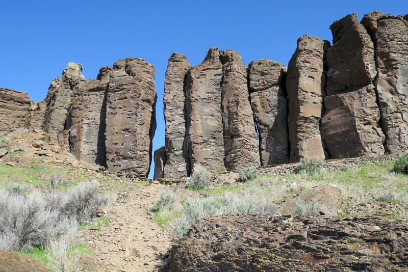 Columbia River basalt arkivfoton