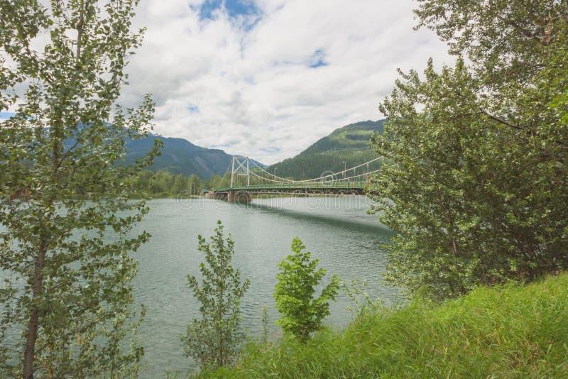 Columbia River Brücke stockbilder