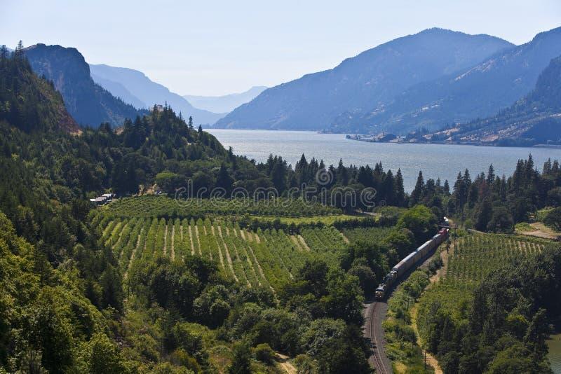 Columbia River Gorge. National Scenic Area, Oregon stock photos