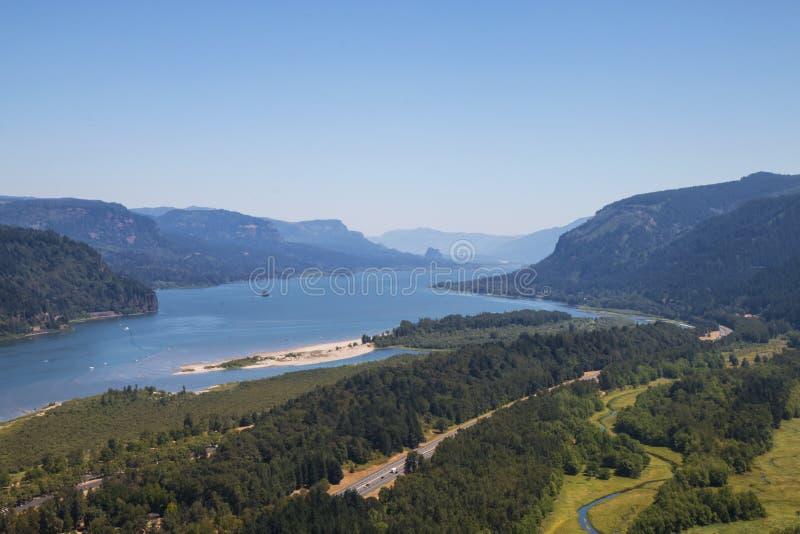 Columbia River Gorge royalty free stock photos