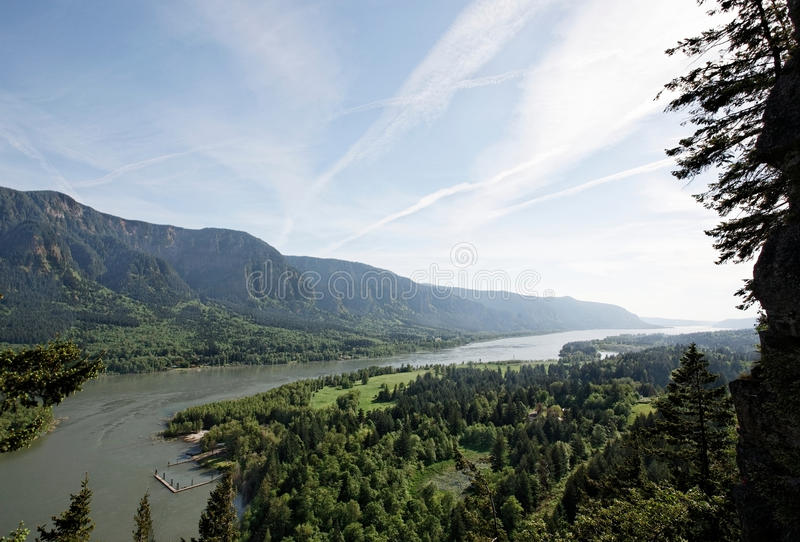Download Columbia River Gorge, Pacific Northwest, Oregon Stock Photo - Image of oregon, scenic: 25058188