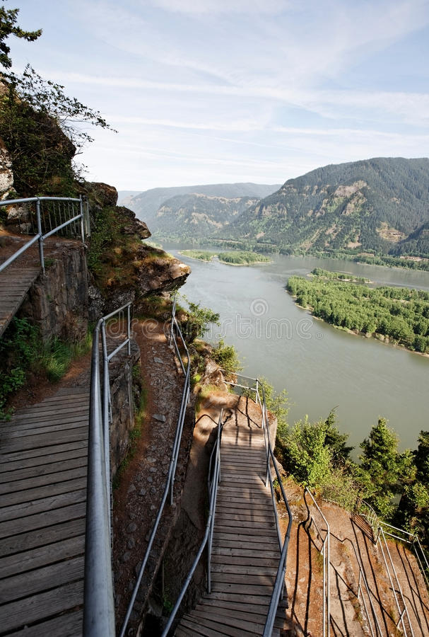 Download Columbia River Gorge, Pacific Northwest, Oregon Stock Photo - Image: 25058200