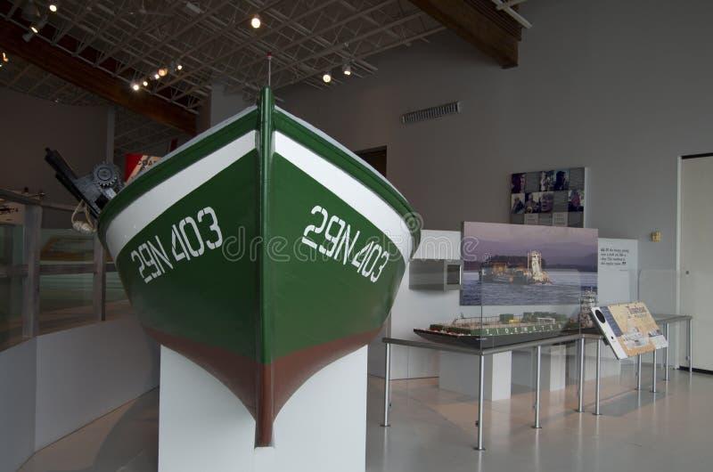 Columbia River maritimt museum royaltyfri bild