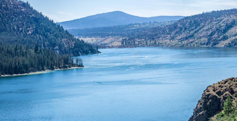 Columbia river scenes on a beautiful sunny day. Columbia river scenes  on a beautiful sunny day stock photography