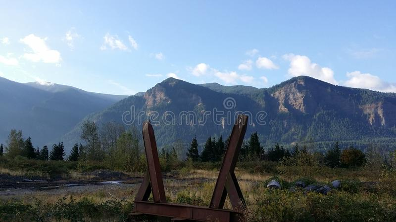Columbia River Valley royalty free stock photography