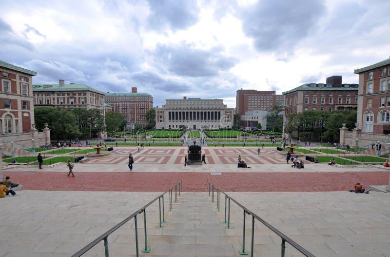 Columbia University in New York immagine stock