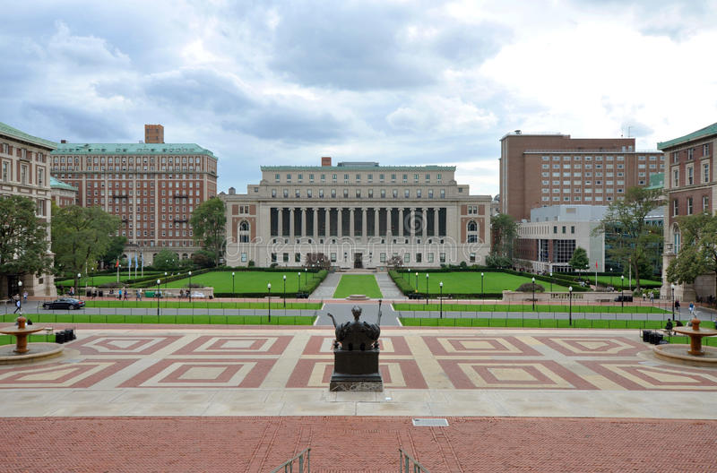 Columbia University in New York City royalty free stock photo