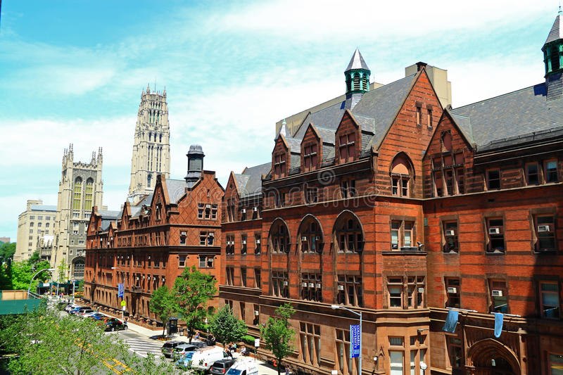 Columbia University Teachers College. At New York City, United States stock images