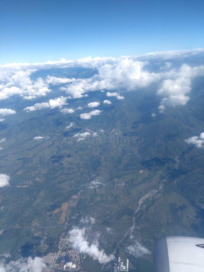 Columbiaans landschap royalty-vrije stock foto's