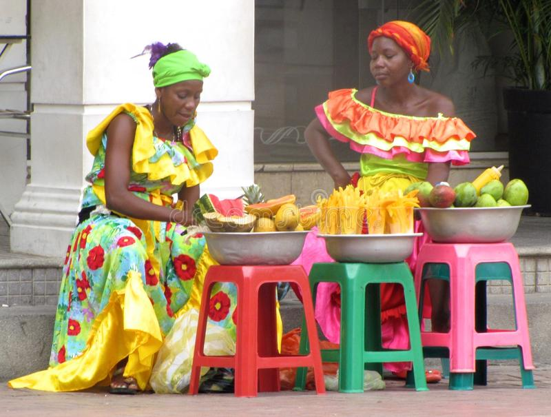 Columbiaanse Vrouwen stock foto