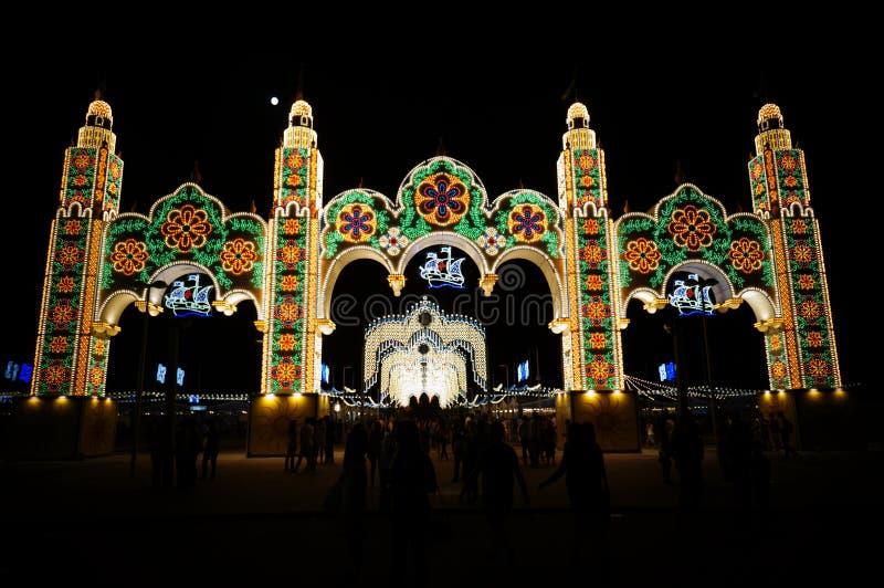 The Columbian Festivals royalty free stock photo