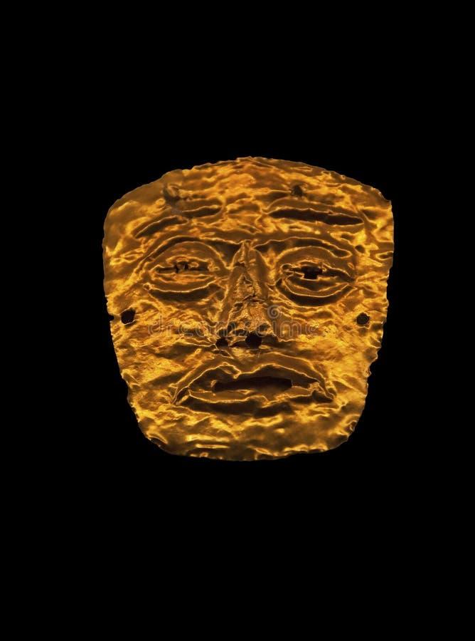 columbian guld för amulett pre royaltyfria foton