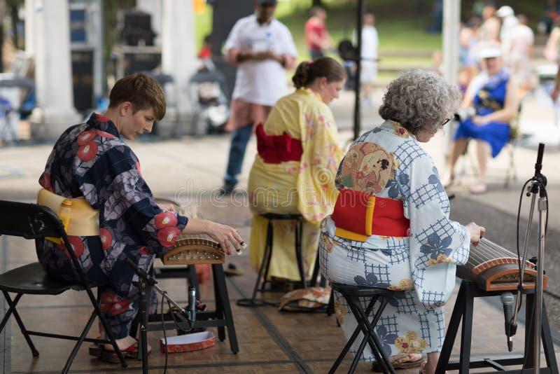 Columbus Asian Festival imagem de stock royalty free