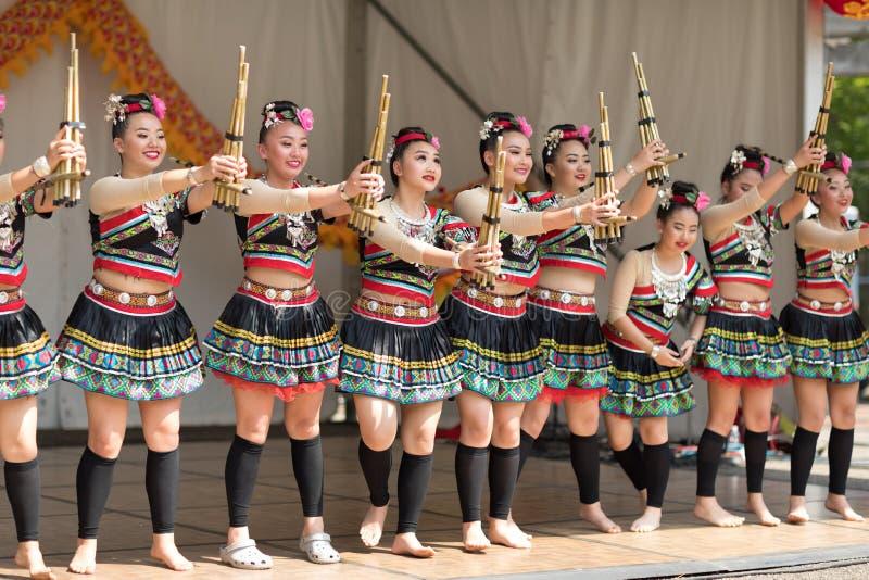Columbus Asian Festival fotografering för bildbyråer