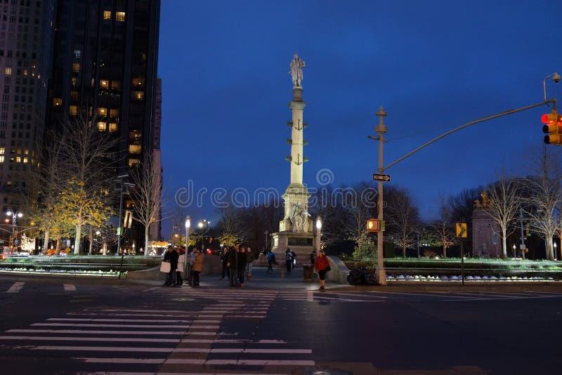 Columbus Circle 37 royaltyfri fotografi