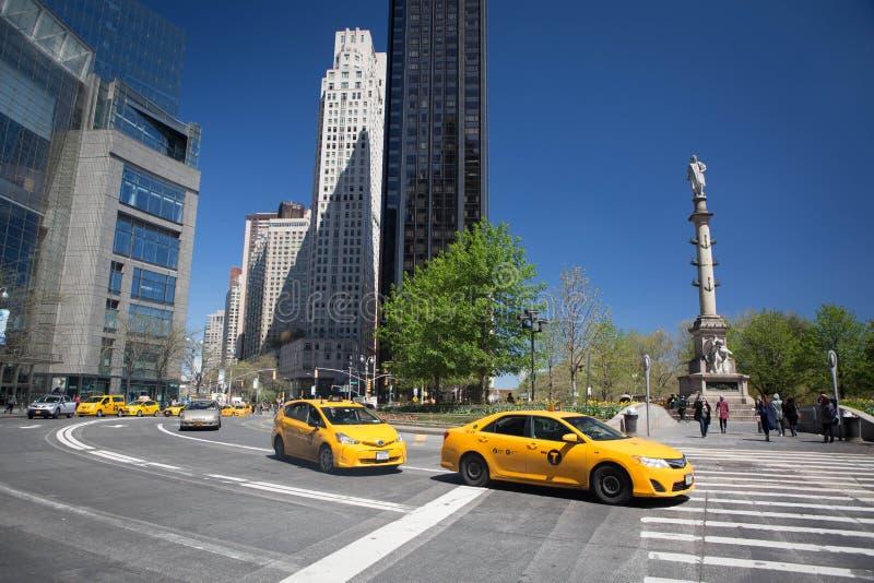 Columbus Circle image stock
