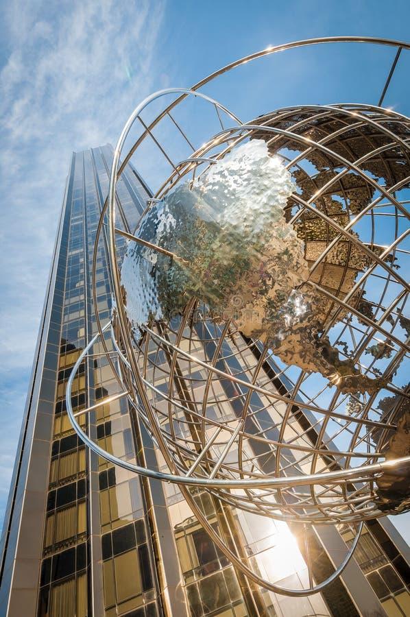 Columbus Circle en Nueva York, Estados Unidos fotos de archivo