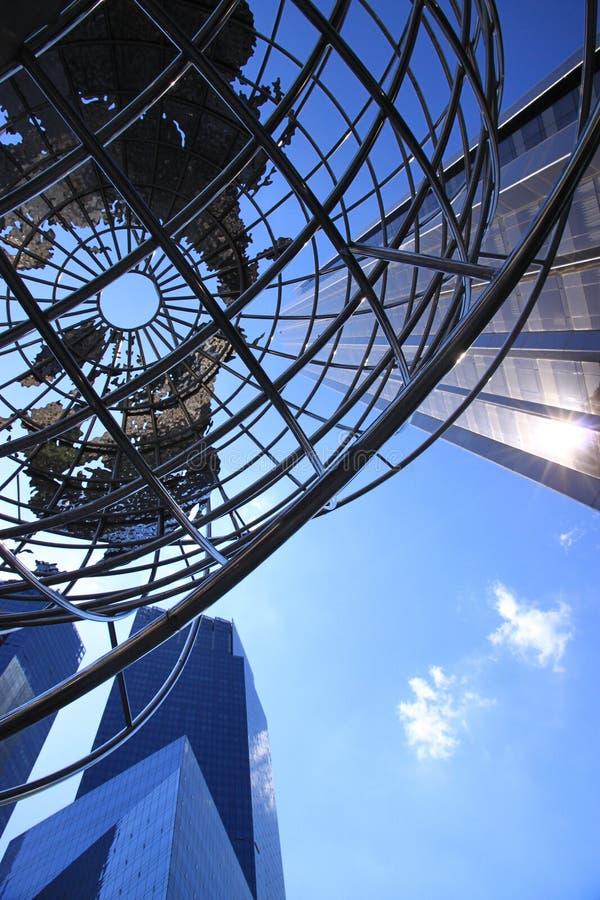 Columbus Circle Globe stock image