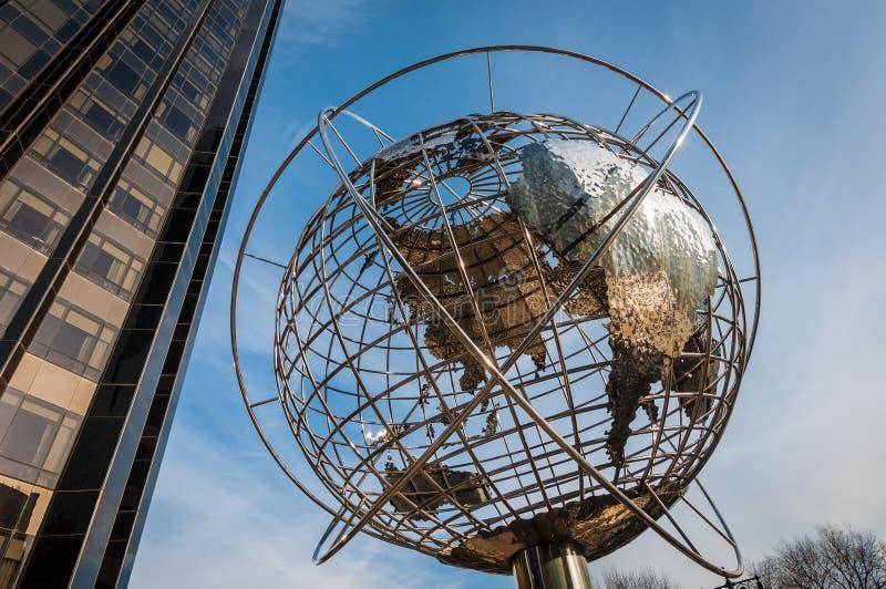 Columbus Circle i New York, Förenta staterna royaltyfri fotografi