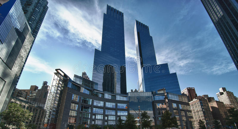 Columbus Circle in New York City royalty free stock photography