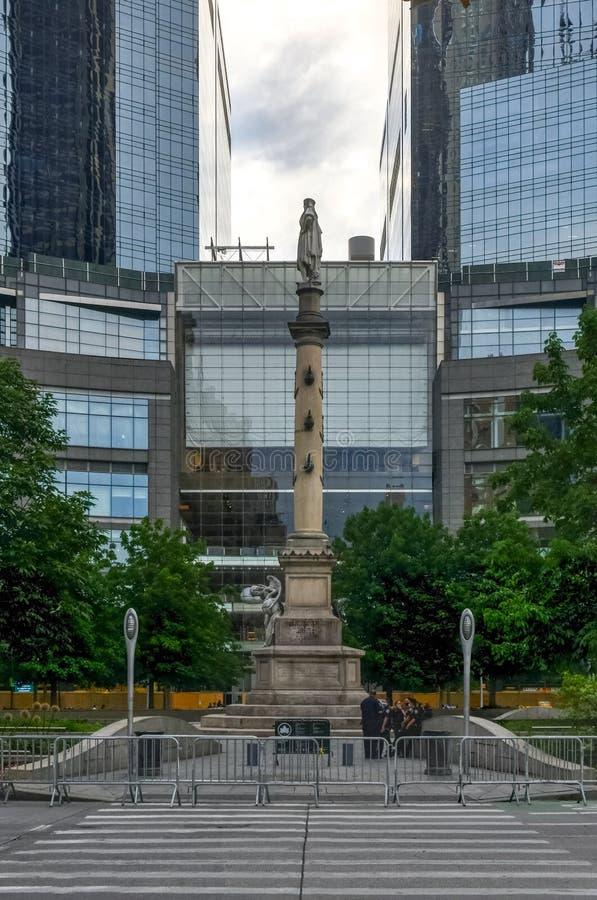 Columbus Circle - New York City stock photo