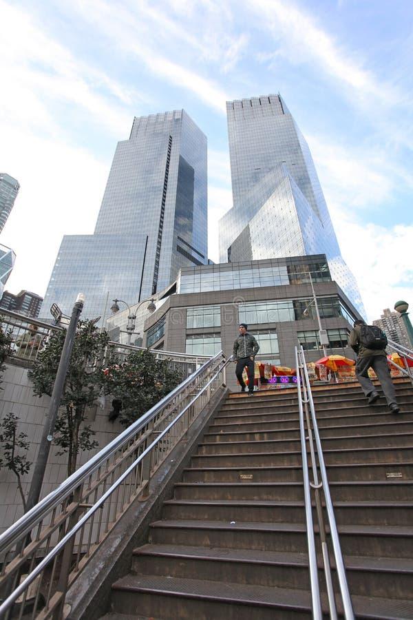 Columbus Circle, NYC, Etats-Unis photographie stock libre de droits
