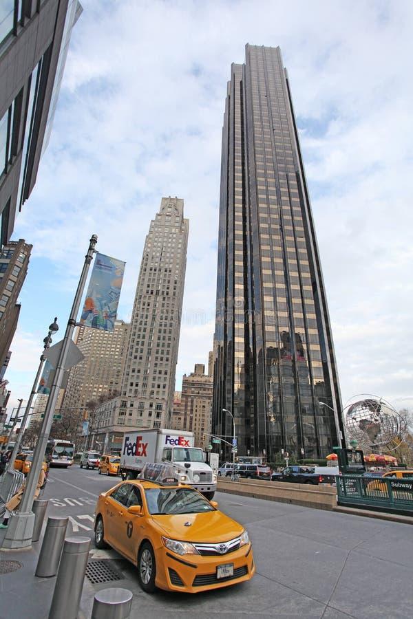 Columbus Circle, NYC, Etats-Unis photo libre de droits