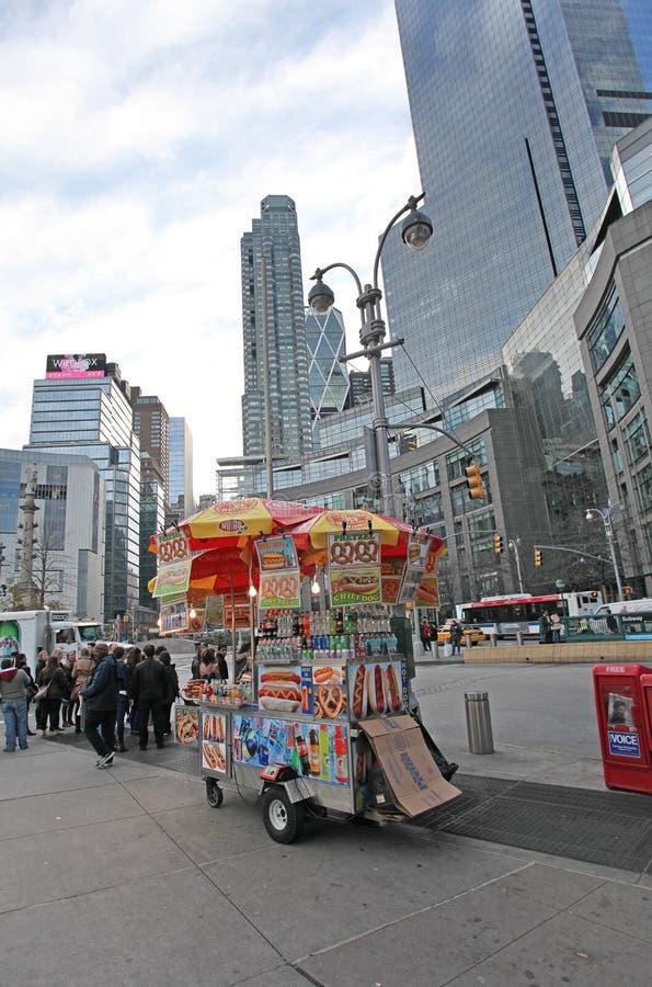 Download Columbus Circle, NYC, EUA foto editorial. Imagem de marco - 65576866