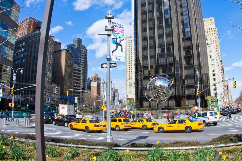 Columbus Circle NYC Trump Tower Editorial Photo