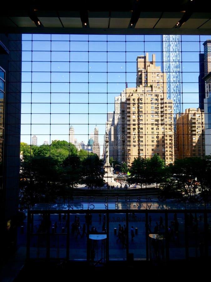 Columbus Circle Mall royalty free stock photo