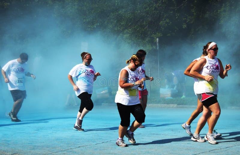 Download Columbus Colorpalooza Fun Run Editorial Stock Photo - Image: 31803093