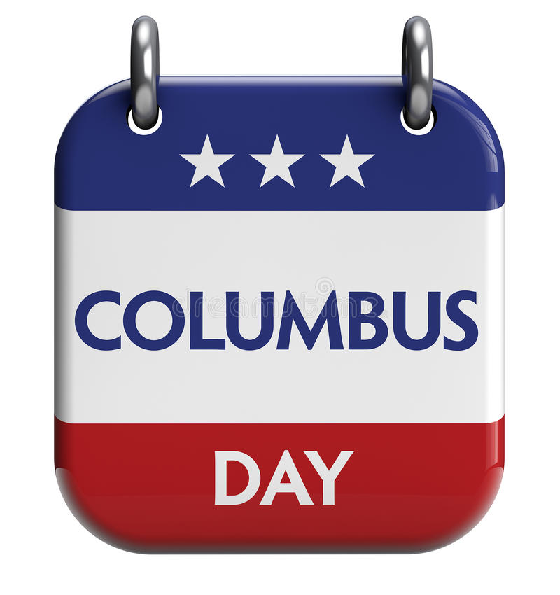 Columbus Day royaltyfri illustrationer