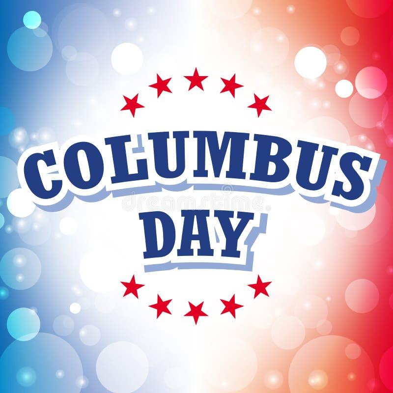 Columbus day royalty free illustration