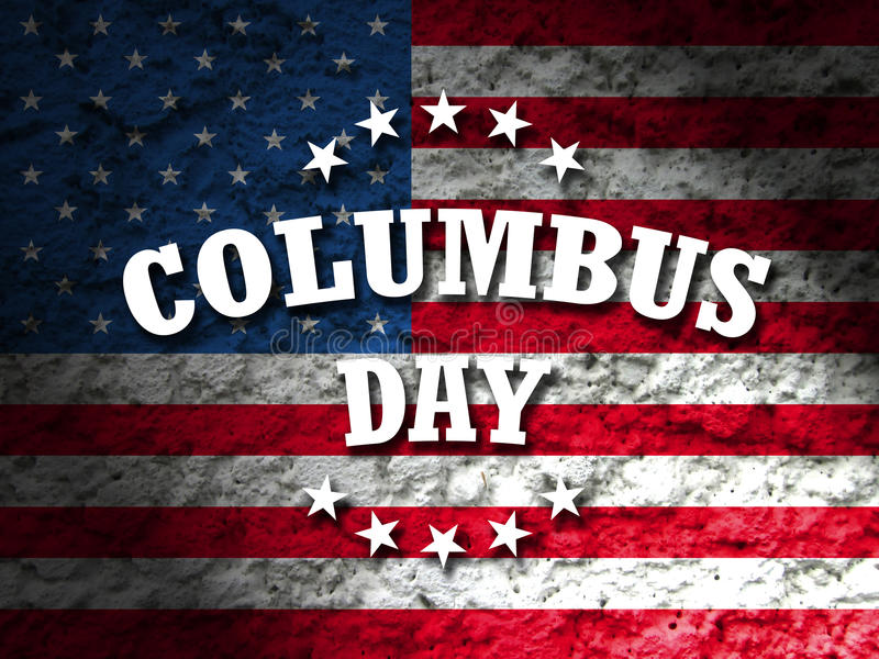 Columbus day stock photography