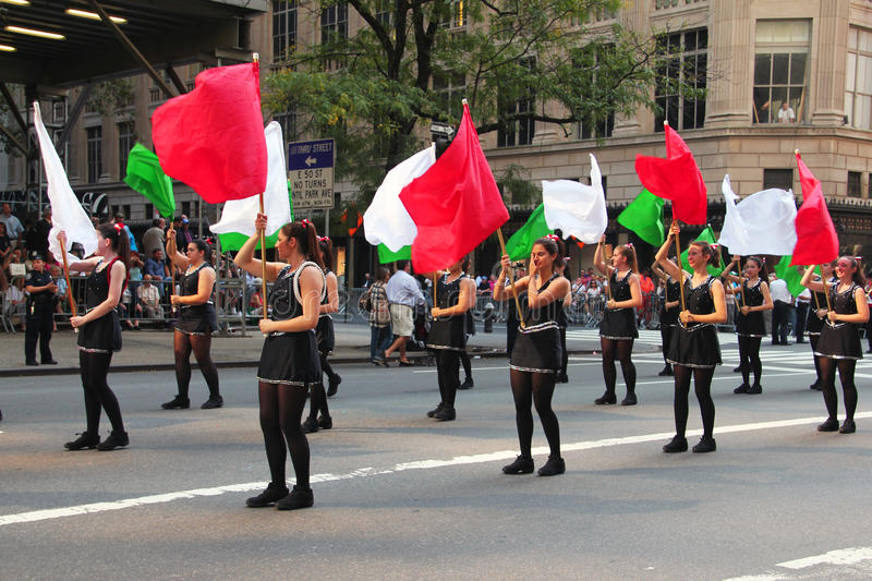 Download Columbus Day Parade editorial photo. Image of christopher - 21538291