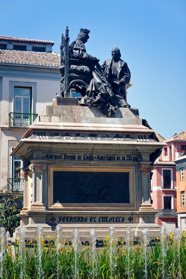 columbus Granada obraz royalty free