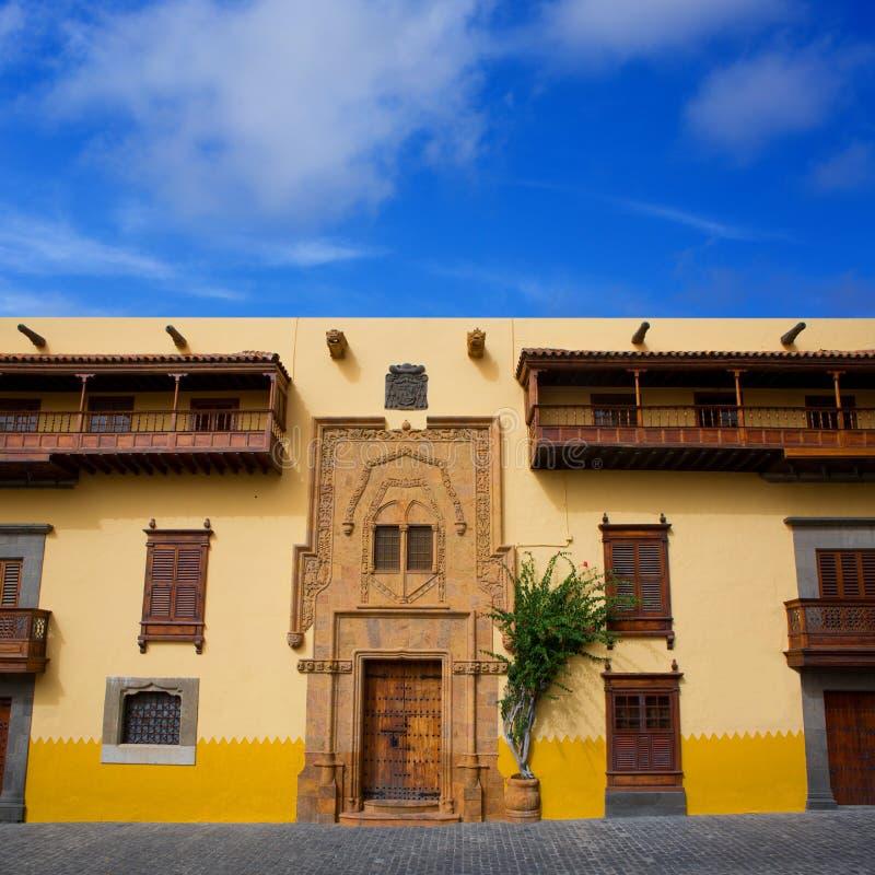 Columbus-Haus Las Palmas Gran Canaria lizenzfreie stockbilder