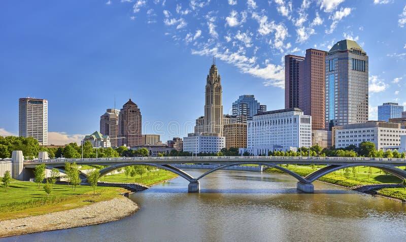 Columbus horisont fotografering för bildbyråer