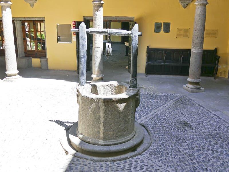Columbus house - las Palmas de gran canaria royalty free stock photos