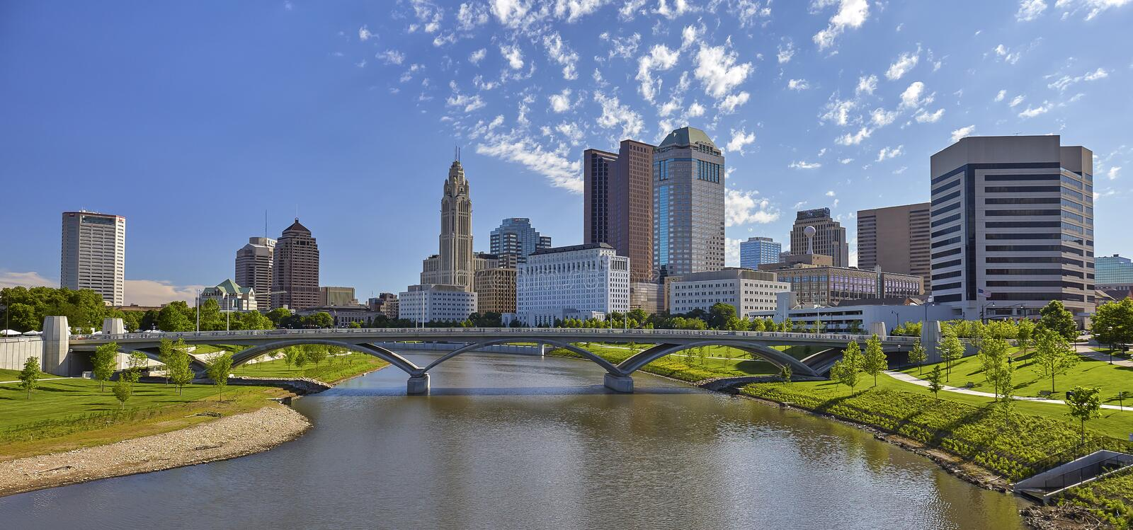 Columbus, Ohio royalty free stock image