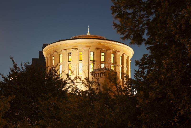 Columbus, Ohio - de Bouw van het Capitool van de Staat stock fotografie