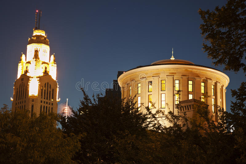 Columbus, Ohio - het Capitool van de Staat stock foto